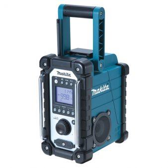 Radio de chantier AM/FM compatible avec les lecteurs MP3 et Ipod.