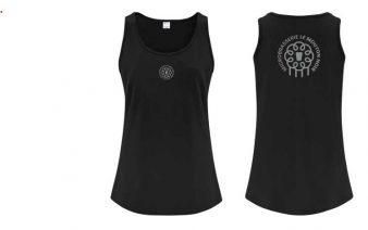 Camisole pour femme Mouton Noir, 100% coton prérétréci.