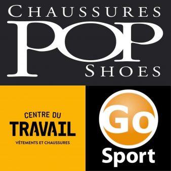 Chaussures Pop/Go Sport/Centre du Travail
