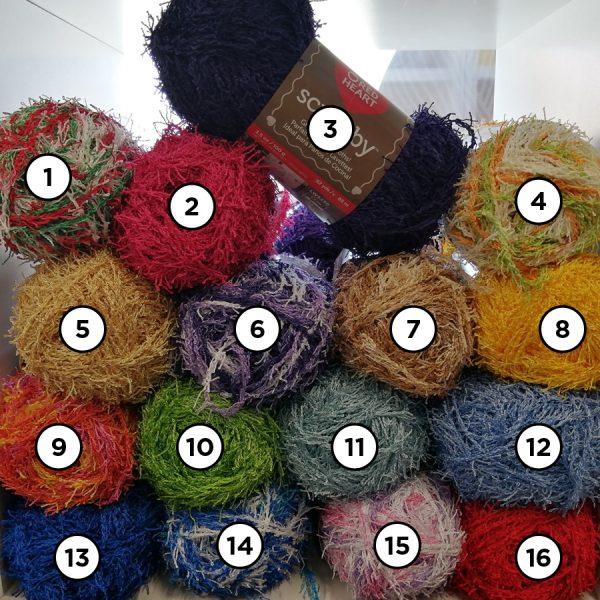 laine numérotées