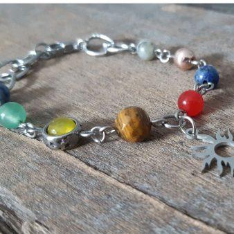 bracelet planète