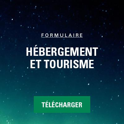formulaire_hebergement tourisme