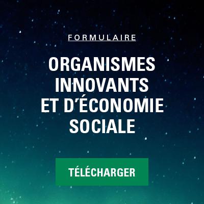 formulaire_organisme innovant et economie sociale